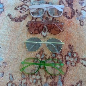 Free People Accessories - Sunglasses and glasses bundle